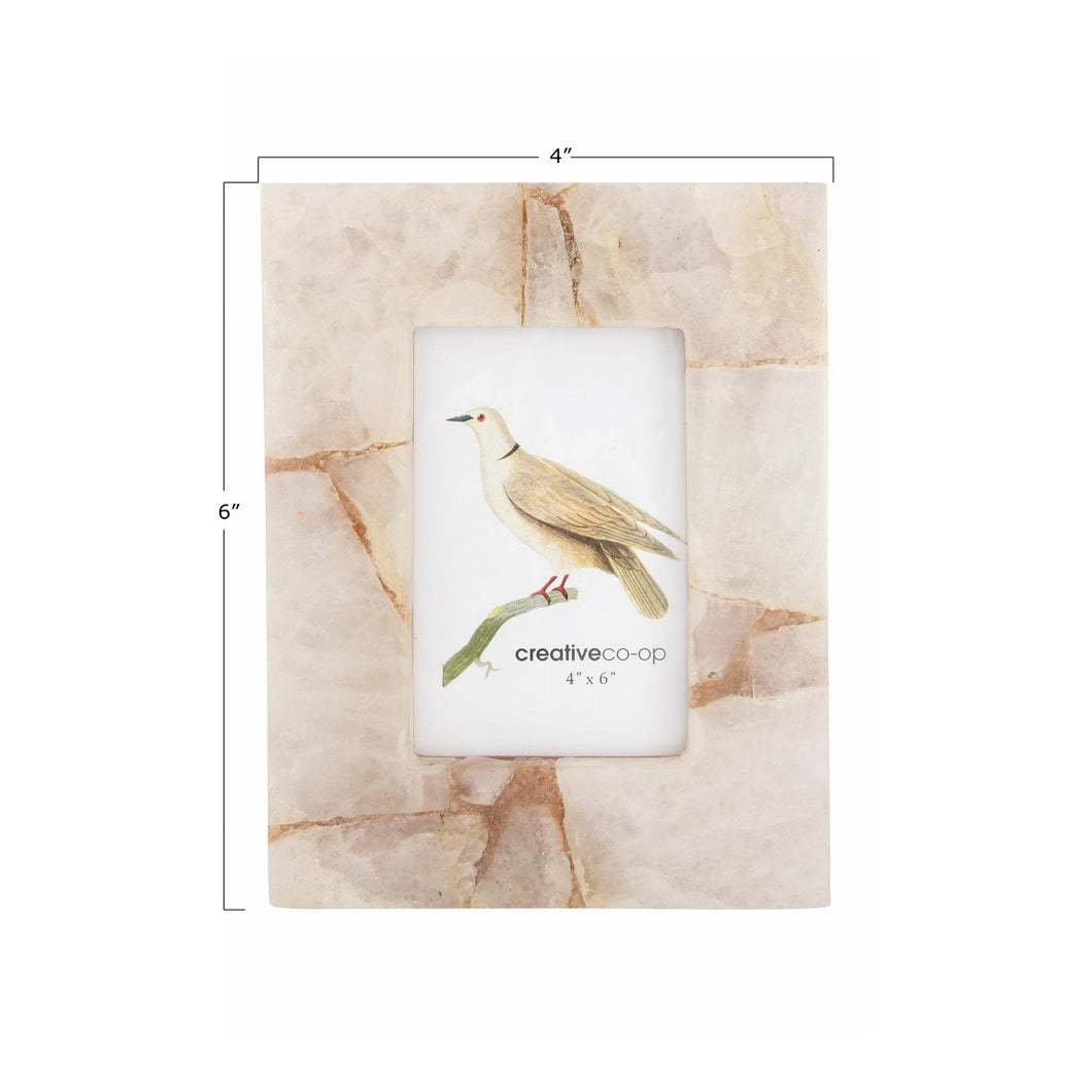 Quartz Photo Frame (Holds 4