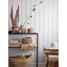 "Load image into Gallery viewer, 6"", 8"" & 11.75"" Handwoven Seagrass Baskets with Fringe (Set of 3 Sizes)"