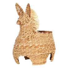 "Load image into Gallery viewer, 20""H Handwoven Bankuan Llama-Shaped Basket"