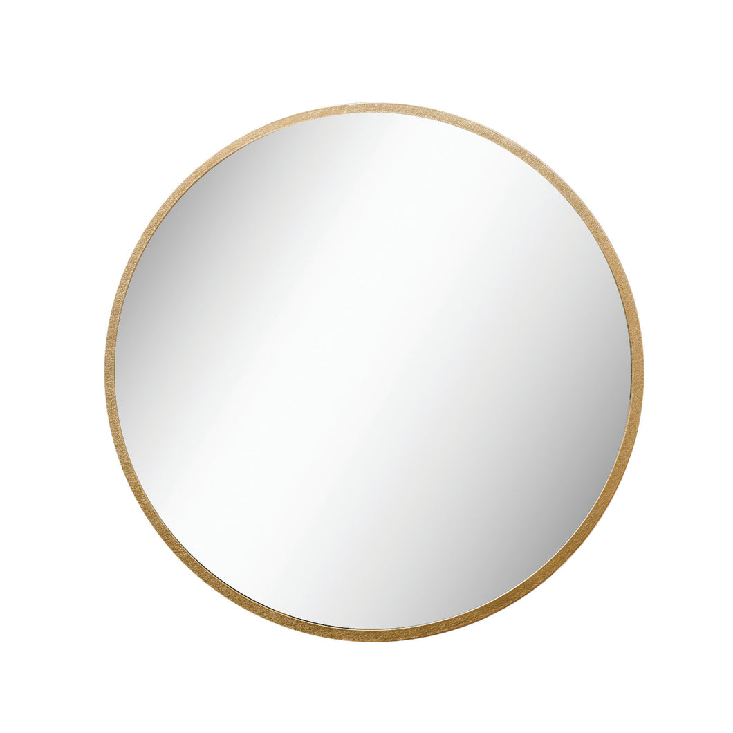 35.5 in. Round Metal Framed Wall Mirror Default Title
