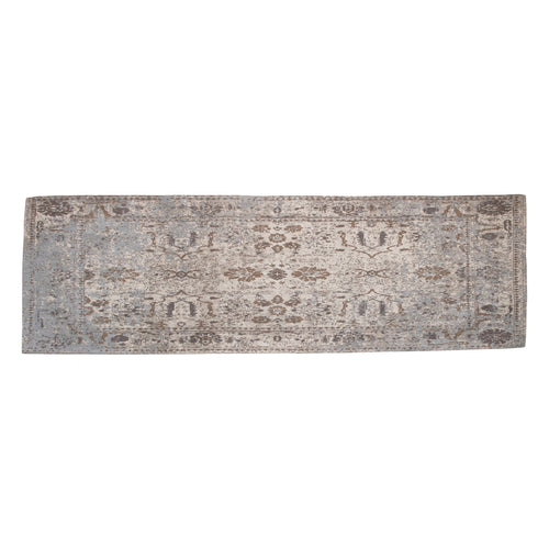 Distressed Finish Woven Cotton Printed Runner Default Title