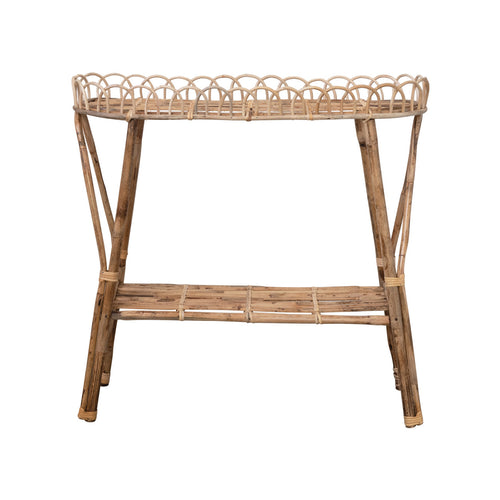 Rattan Table or Plant Stand Default Title