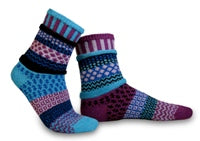 Solmate Socks Raspberry Adult Size Smal