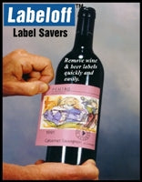 Labeloff Wine Label Savers 25 Pack