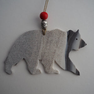G2 Grizzly Bear Ornament