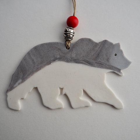 G4 Grizzly Bear Ornament