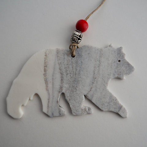 G7 Grizzly Bear Ornament