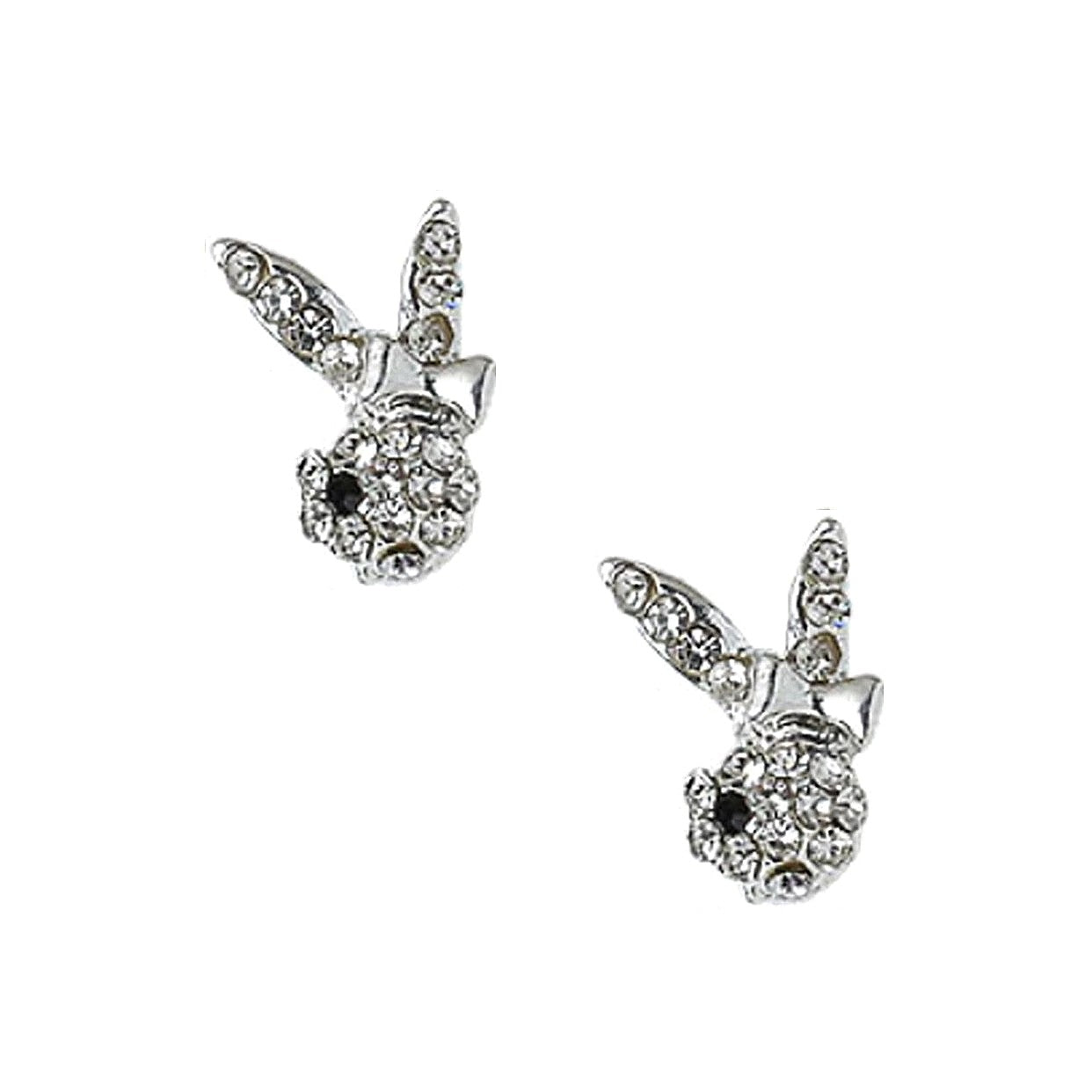 Bunny Charms Pair / Silver