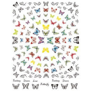 Butterflies Nail Stickers