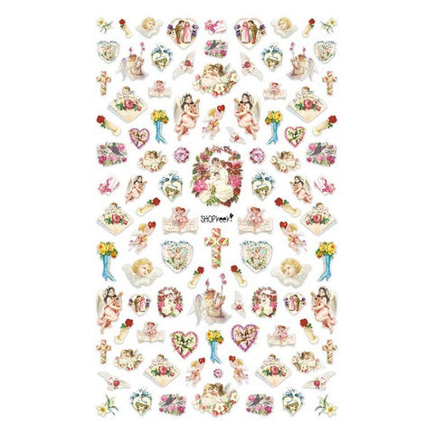 Christian Cherubs #2 Nail Stickers
