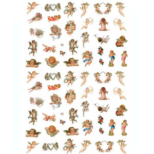 Angel Cherubs Nail Stickers