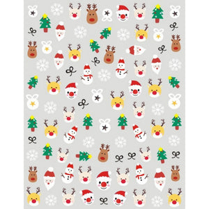 Christmas Cute Mix Nail Stickers