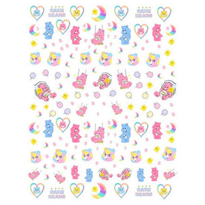 Nostalgic Care Bears #1 Nail Stickers