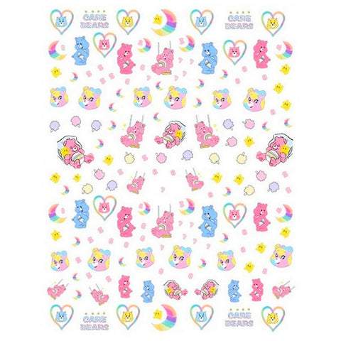 90's Care Bears #1 Nail Stickers