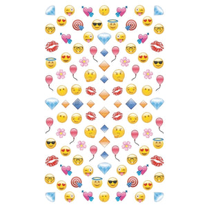 Smiley Emojis #3 Nail Stickers