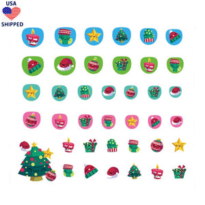 (USA) For Kids Christmas #3 Nail Stickers