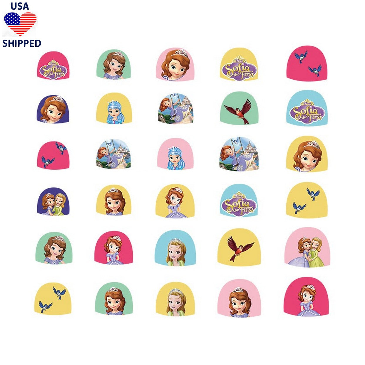 (USA) Kids SOF Nail Stickers