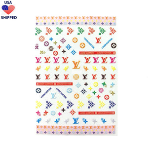 (USA) L  Cheerful Nail Stickers