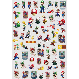 Nostalgic Gaming SM Nail Stickers