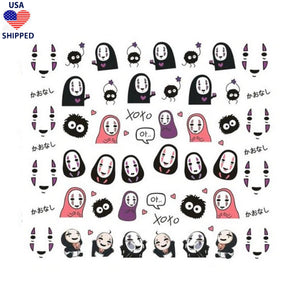 (USA) Kawaii Spirited Nail Stickers