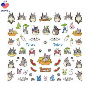 (USA) Anime Toto Mix Nail Stickers