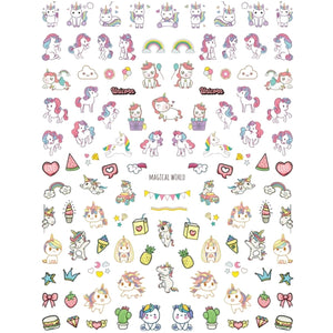 Mythical Unicorn Magical Nail Stickers