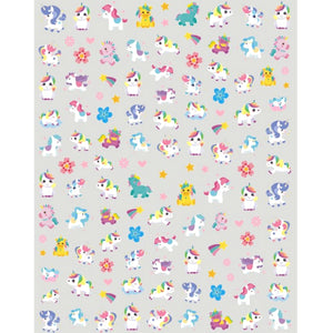 Mythical Unicorn Cute Nail Stickers