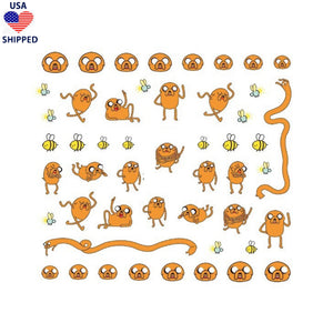 (USA) Cartoons Adventure J Nail Stickers