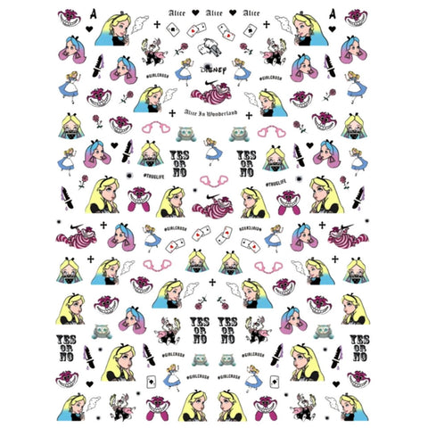 Cartoons AIW Explicit Nail Stickers