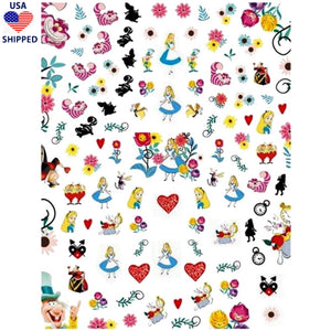 (USA) Cartoons AIW Nail Stickers