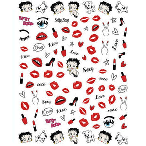 Cartoons Betty Nail Stickers