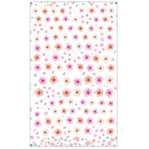 Floral Blossom Variety Nail Stickers