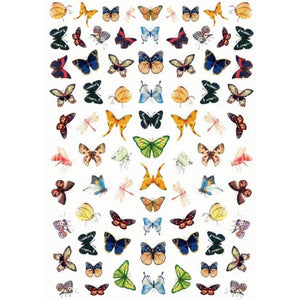 Butterflies Mix #4 Nail Stickers