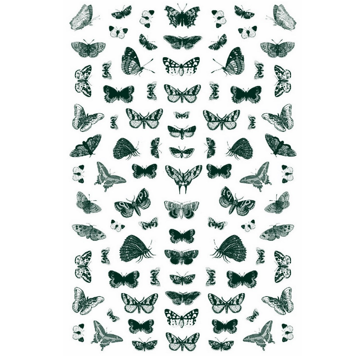 Butterflies Mix #5 Nail Stickers