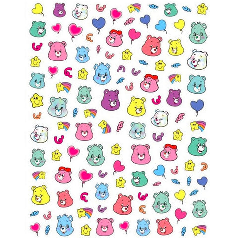 90's Care Bears #2 Nail Stickers
