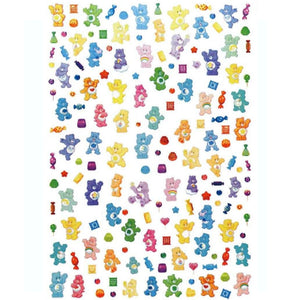 90's Care Bears Nail Stickers