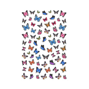 Butterflies Mix Nail Stickers