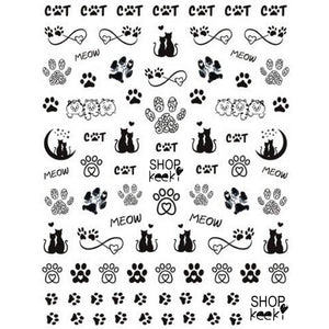 Cats #1 Nail Stickers
