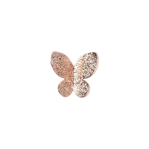 3D Butterfly Pair / Rose Gold