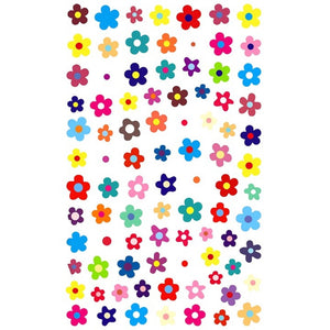 Floral Bold & Cheerful Nail Stickers