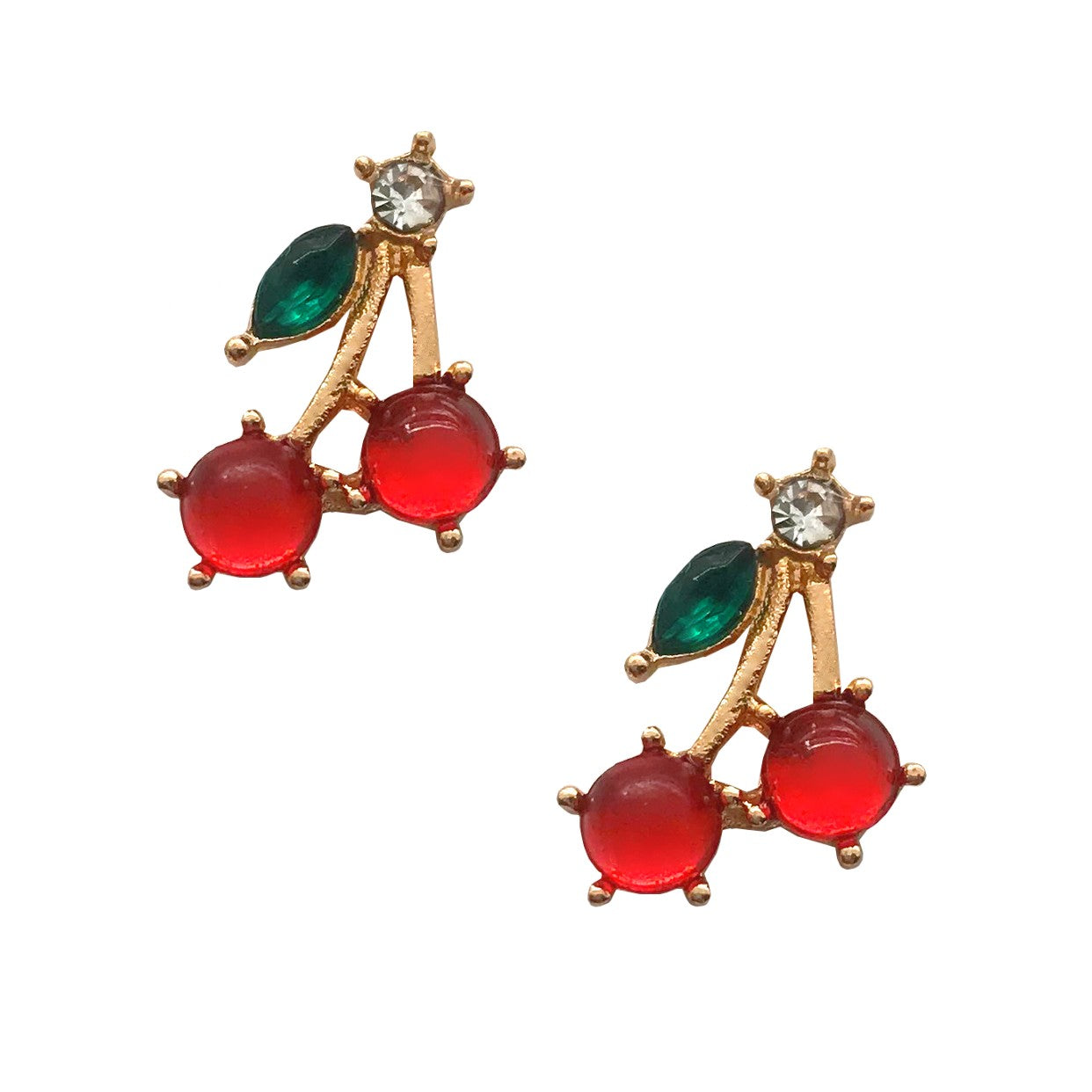 Cherries Charms / Pair