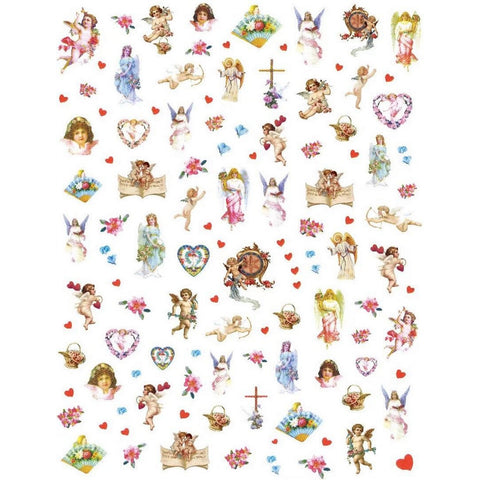 Angel Cherubs Delicate Nail Stickers
