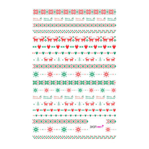 Christmas Pattern Nail Stickers