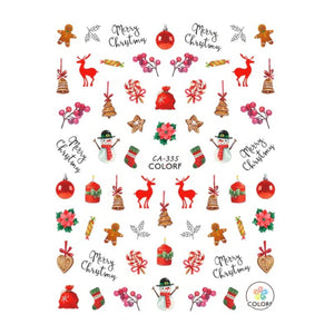 Christmas Cosy Style Nail Stickers