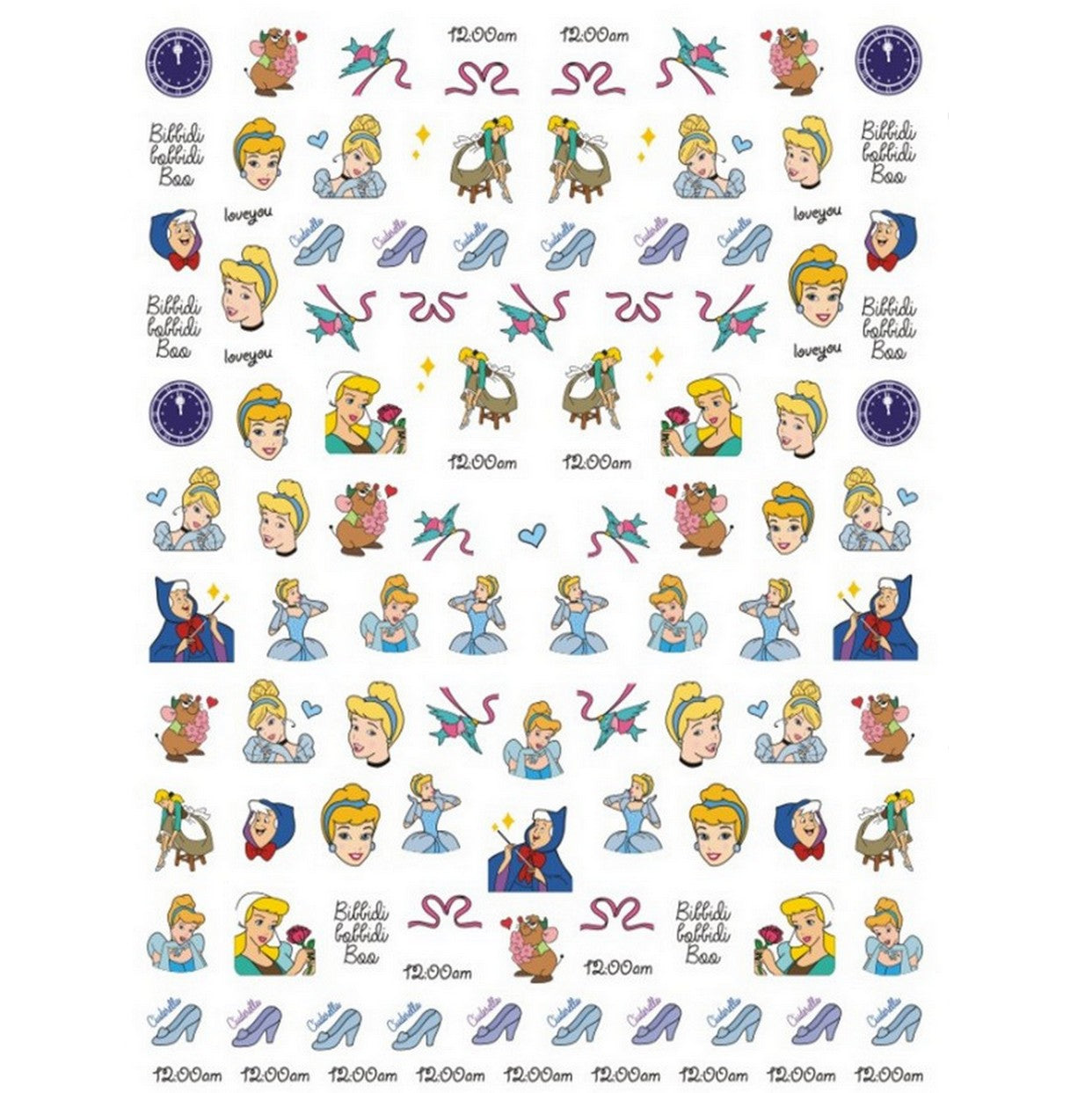 Cartoons Cin Classic Nail Stickers