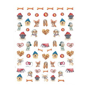 Pets Doggs #2 Nail Stickers