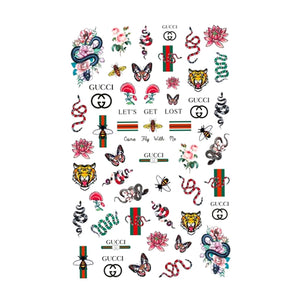 G Nature Mix Small Nail Stickers