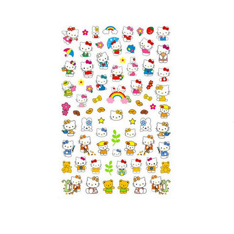 Kawaii Hello Kit #2 Nail Stickers