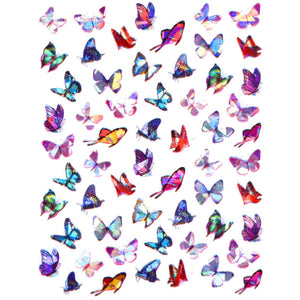 Butterflies Holo Pretty Mix Nail Stickers
