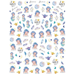 Cartoons Jas Dreamy Nail Stickers